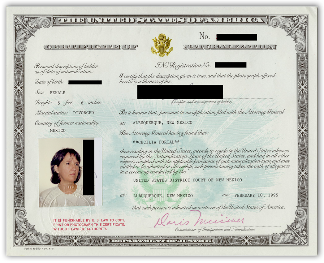 How To Get A New Naturalization Certificate Usa